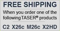Free Shipping On TASER Orders